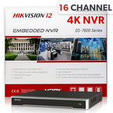 Hikvision DS-7616NI-I2/16P 16 Channel 4K Network Video Recorder
