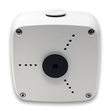White AmSecu Weather Proof Junction Box Mount Bullet Cameras and Dome Style Cameras
