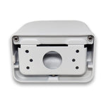 White AmSecu M203-JAA Wall Mount (Dahua and Hikvision)