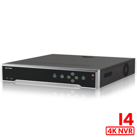 Hikvision 16CH H.265 4K 12MP DS-7716NI-I4/16P POE NVR Network Video Recorder