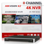 Hikvision DS-7608NI-K2/8P 8 Channel 4K Network Video Recorder