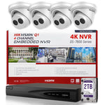 Hikvision DS-7604NI-Q1/4P 4K NVR Bundle Kit w/ 4 x Hikvision DS-2CD2343G0-I 2.8mm Turret IP Cameras