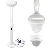 13-21 in Universal Adjustable Ceiling Mount for Hikvision & Dome IP Cameras