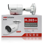 Hikvision 4MP EXIR DS-2CD2043G0-I IR PoE Network Security Bullet Camera 4.0mm Lens