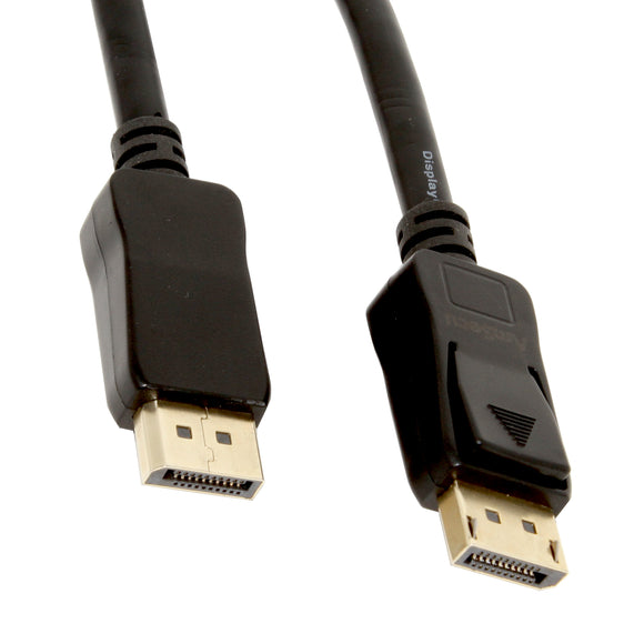 AmSecu Displayport Cable, Male-Male, 24K Gold-Plated, 6ft, Model