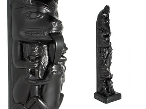 Chapman Pole Black Stone Totem 19 inches