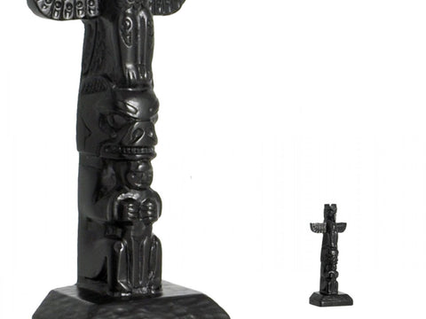 Black Stone Totem - Thunderbird 4.5 inches Height