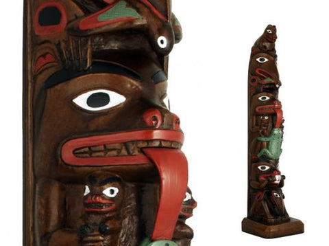 Totem Hand painted Chapman pole
