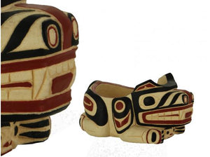 Potlatch bowl - Bear