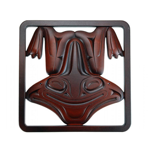 Frog Wall Art / Trivet by Kelly Robinson