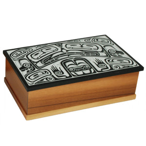 Desk Box - Ivory Color Inlay