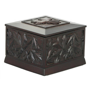 Maple Leaves Decoration Box