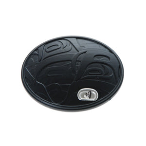 Sea to Sky Collection Oval Belt Buckle.