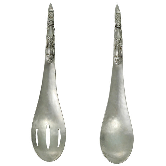 Native Pewter Serving Set