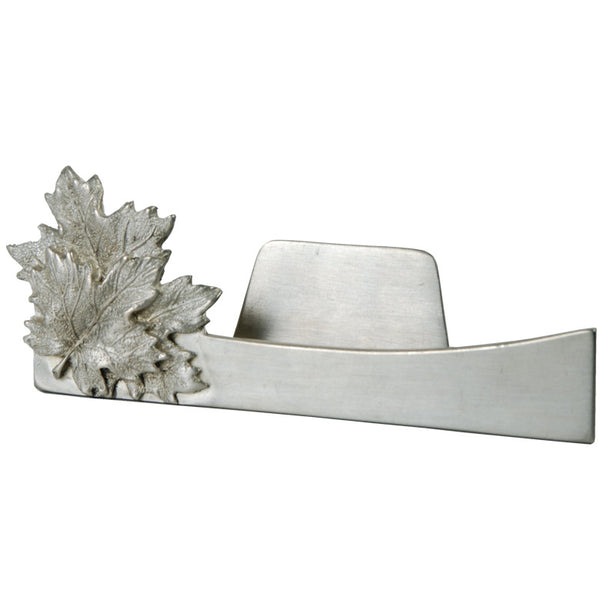 Business Card Holder: Maple Leaf