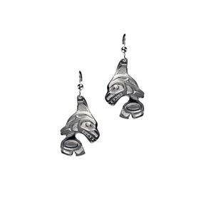 "Earrings ""Orca"""