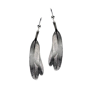 "Earrings ""Eagle Feather"""