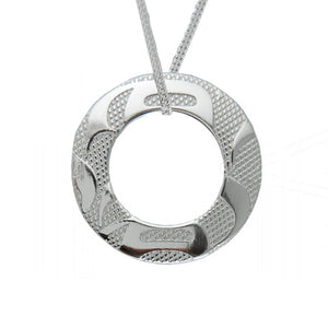 Equilibrium Pendant with Sterling Silver Chain