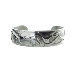 Silver Octopus Bracelet by Andrew Williams