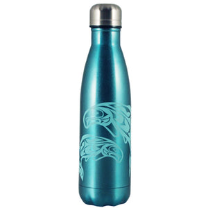 Salmon Insulated Water Bottle