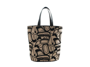 Eagle Bucket Tote by Kelly Robinson (Beige)