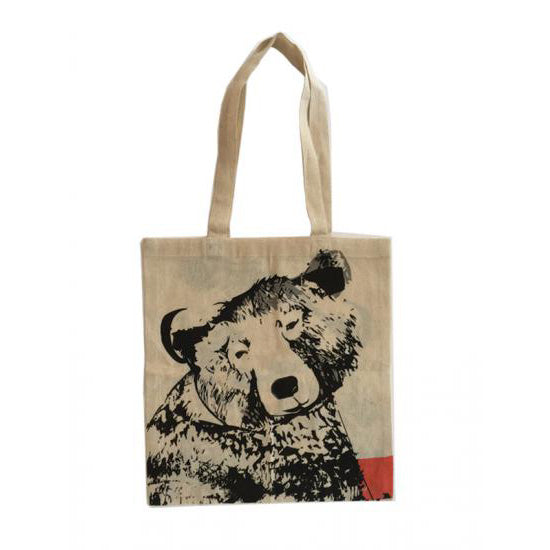 Grizzly Bear Cotton Shopping Bag