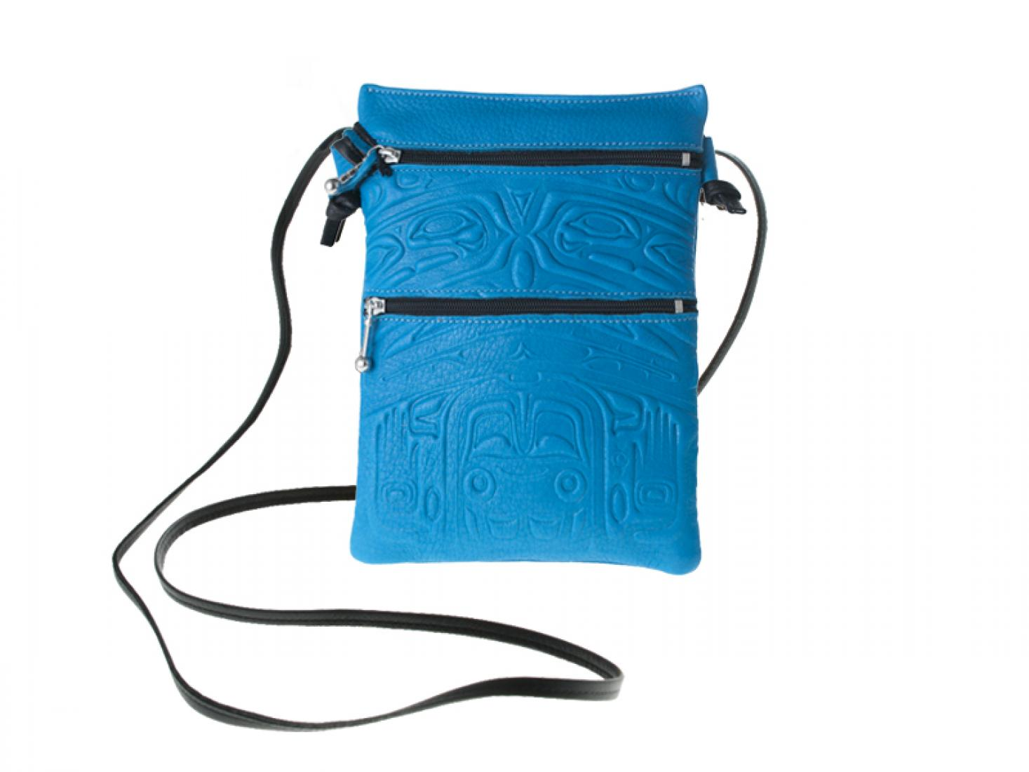 EMBOSSED Passport Pouch - Bear Box Design