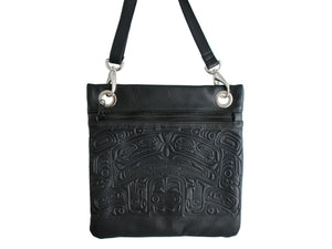 Embossed City Bag Bear Box Design