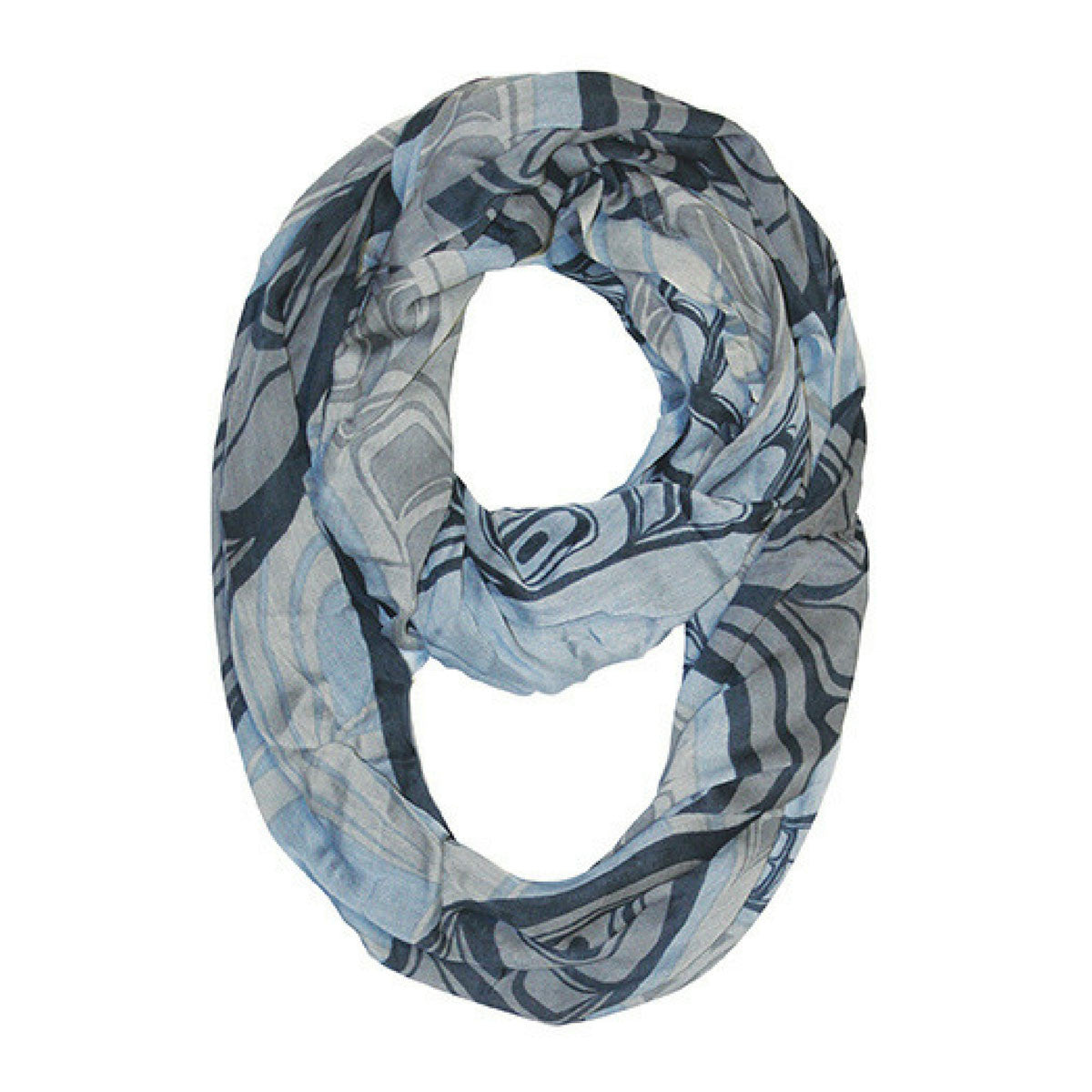Bamboo Circle Scarf - Two Ravens
