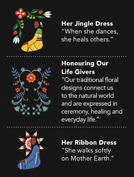Bamboo Circle Scarf - Honouring Our Life Givers