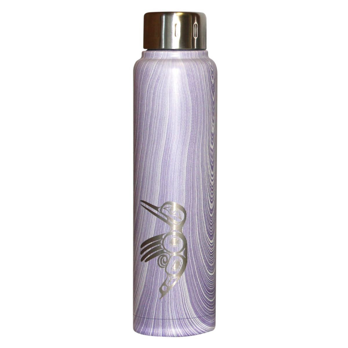 Insulated Stainless Steel Totem Bottle - Hummingbird by Ryan Cranmer