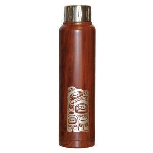 Insulated Stainless Steel Totem Bottle - Eagle by Ernest Swanson
