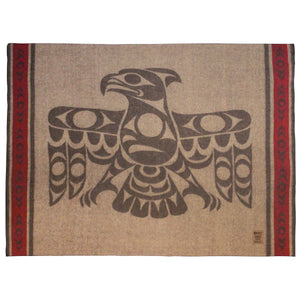 "Wool Blanket - ""Strength of Our Ancestors"" by Terry Horne"