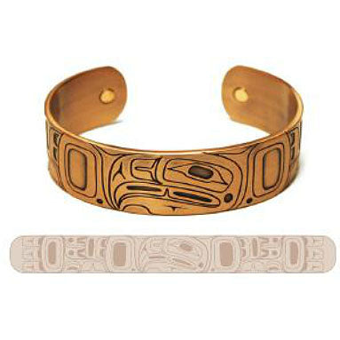 Copper Bracelet: Eagle