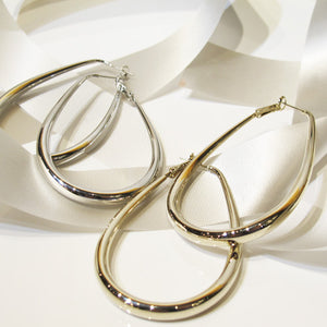 Elegant Bold Hoop Earrings
