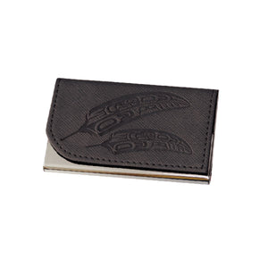 Card Holder - Gift of Honour by Francis Horne Sr. (black)
