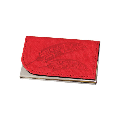 Card Holder - Gift of Honour by Francis Horne Sr. (red)