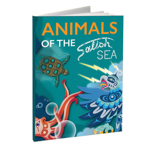 Animals of the Salish Sea Hard Cover Book