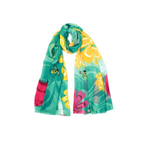 Chiffon Scarves - Bee and Blossoms