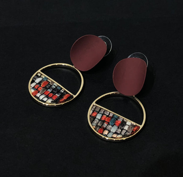 Weaving Drop Earrings