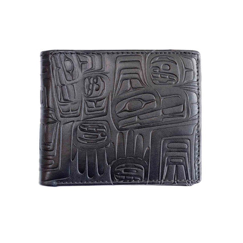 Embossed Wallet - Eagle Crest by Ben Houstie