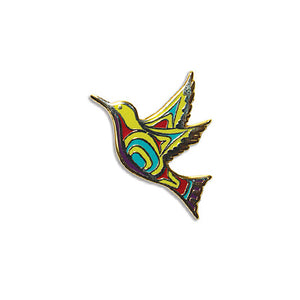 Enamel Pin - Hummingbird