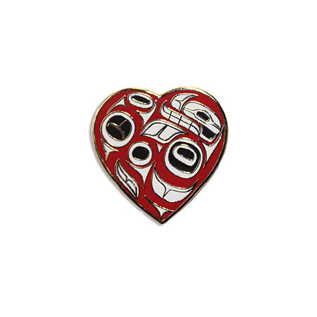 Enamel Pin - Heart