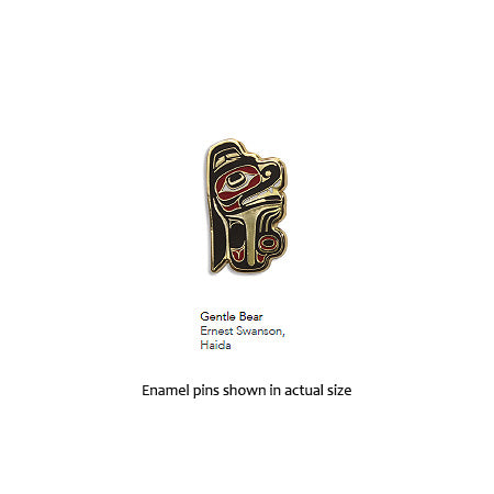 Enamel Pin - Gentle Bear