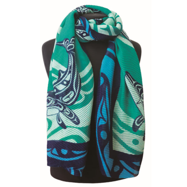 Eco Scarves - Humpback Whale