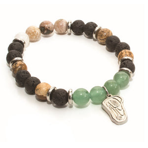 Healing Bracelet - Raven and Light