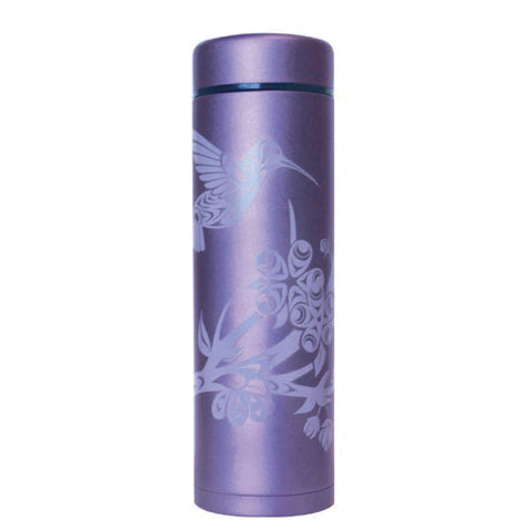 Insulated Stainless Steel Tumbler - Hummingbird