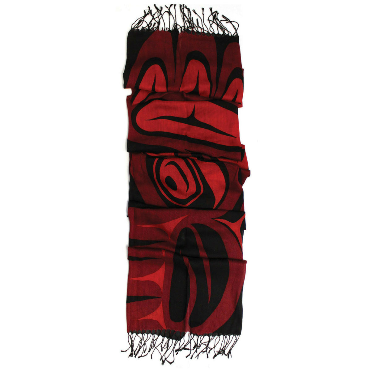 Frist Nation Art Printed Scarf - Eagle Blessing