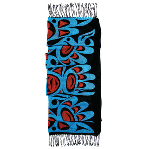 Frist Nation Art Printed Scarf - Eagles