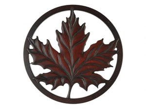 Maple Leaves Wall Art / Trivet